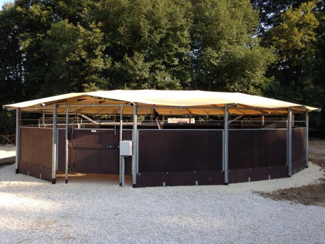 Marcheur couvert pour chevaux hippocenter 177397 - Couvert de table pas cher ...