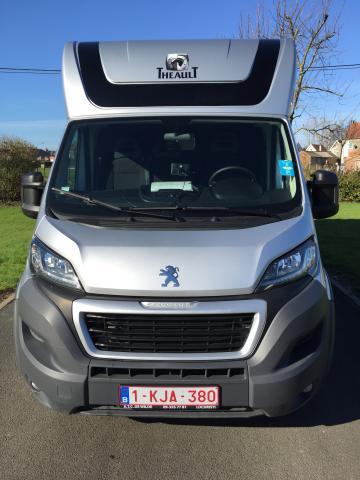 camion chevaux renault theault haras 2015 264206 acheter ce camion equirodi belgique. Black Bedroom Furniture Sets. Home Design Ideas